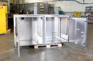 aluminum electrical enclosure assembly