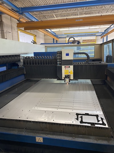 Laser cutting services in Cleveland, Ohio