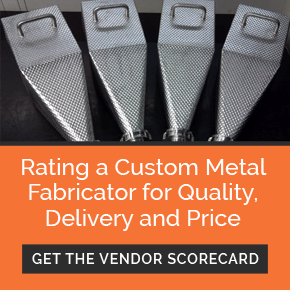 Download the Custom Metal Fabricator Vendor Scorecard
